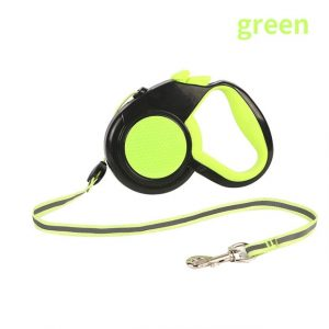 3/5/8M Durable Retractable Dog Leash Automatic Reflective Dog Leashes