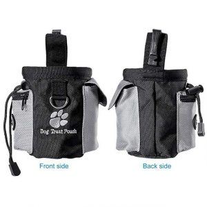 Dog Treat Pouch Drawstring Carrier