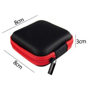 Earphone Wire Storage Box Case Container