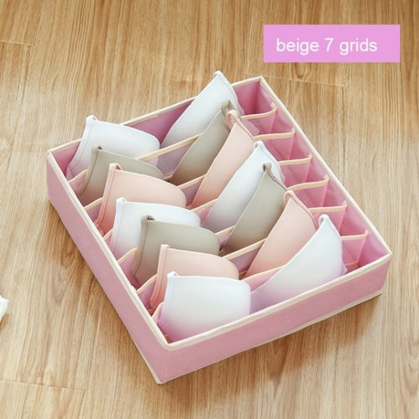 Foldable Household Storage for Undergarments