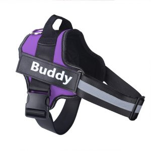 Dog Harness NO PULL Reflective Breathable Adjustable Pet Harness