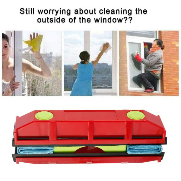 Portable Magnetic Glass Window Cleaner