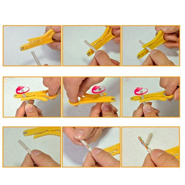 1pc Automatic Stripping Pliers Wire Stripper