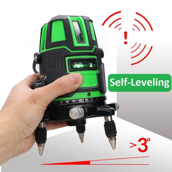 2/3/5 Cross Lines Laser Level Self Leveling 360 Rotatable