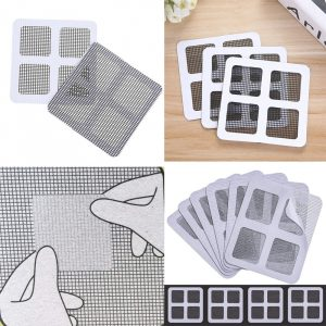 5 Pack Fix Net Window Home Adhesive Anti Mosquito Fly Bug Insect Repair Screen