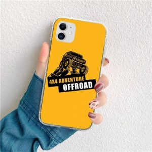 American JEEP Car Painted Phone Case for iphone 12 pro max 6 6S Plus X 5S