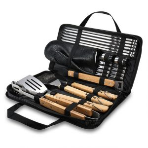 BBQ Tools Set Grill Accessories Skewers Tongs