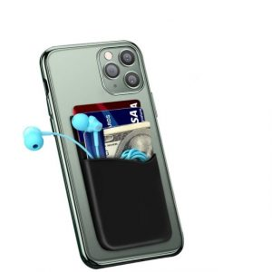 Stick-on Card Holder Mobile Phone Case for Back of Phone