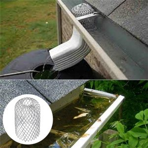 Roof Gutter Guard Filters 3 Inch Expand Aluminum Filter Strainer