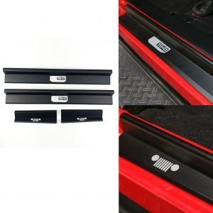 4pcs/set Door Sills Entry Guards Accessories Car Styling Anti Scratch