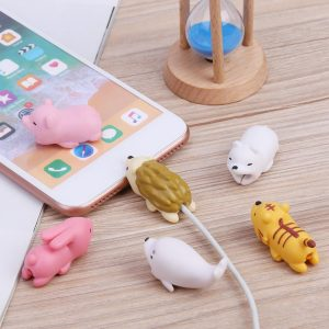 New Cute Cartoon Bite Animal Cable Protector