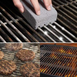2PCS BBQ Grill Cleaning Brick Cleaning Stone