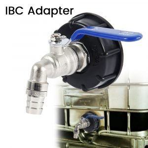 """3/4"""" IBC Tank Adapter Ball Outlet Tap"""