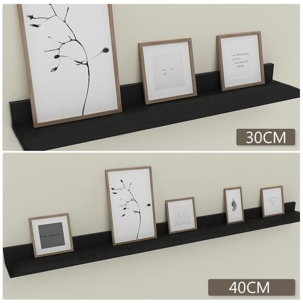 30/40cm Storage Rack Space Aluminum Wall Shelf