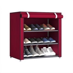 4/5/6/8/10 Layer Shoe Rack With Dust proof Cloth