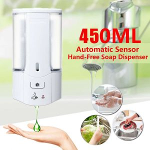 450mL Wall Mounted Automatic Soap Dispenser