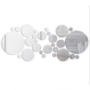 Geometric Circle Mirror Wall Sticker