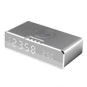 LED Electric Alarm Clock with Digital Thermometer