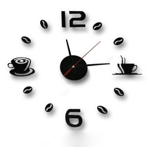 Wall Clock: Coffee Inspired