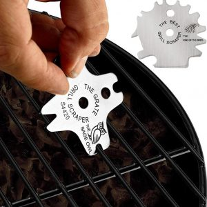 Portable Metal BBQ Grills Grate Cleaner