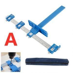 Drill Guide Sleeve Punch Locators Detachable Woodworking Tools
