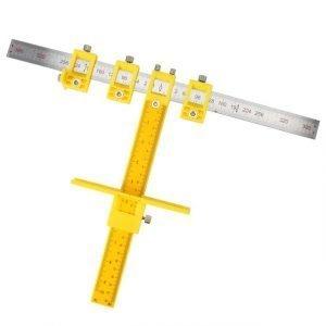 Detachable Hole Punch Jig Tool Center Drill Bit Guide Set
