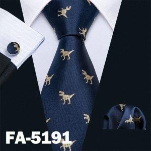 2018 New Arrival Men's Ties Dinosaur Pattern Red Mens Wedding Neckties 8.5cm Necktie Business Silk Ties For Men Tie FA 5060|Men's Ties & Handkerchiefs|