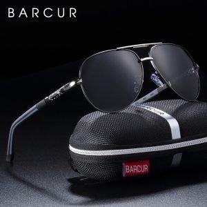 BARCUR Men sunglasses Polarized UV400 Protection Driving Sun Glasses Women Male Oculos de sol|Men's Sunglasses|